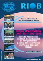 Bilan d'activités du RIOB