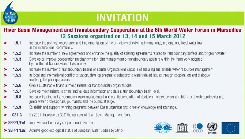 World Water forum - Invitation