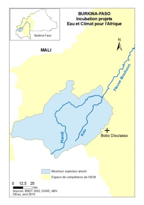 Bassin du Mouhoun Supérieur Amont - Agence de l'eau du Mouhoun
